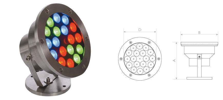 18 Led lights