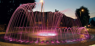 Dynamic fountain