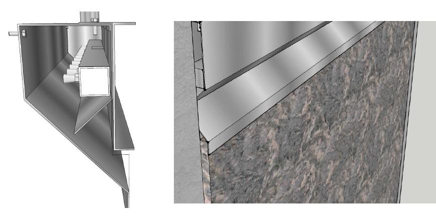 Muro D Acqua Per Interni : Fontane a parete d acqua per interni ed esterni wed sistemi