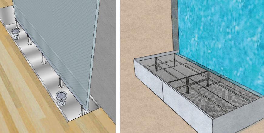 Pareti Dacqua Per Esterni : Fontane a parete d acqua per interni ed esterni wed sistemi