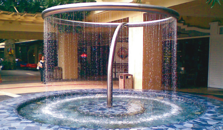 Sensitive Water Curtain
